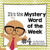 Mystery Word of the Week 4