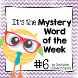 Mystery Word of the Week 6