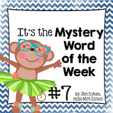 Mystery Word of the Week 7