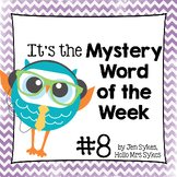 Mystery Word of the Week 8
