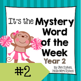 Mystery Word of the Week 2, Year 2