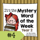 Mystery Word of the Week 4, Year 2