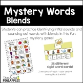 Mystery Words - Blends word work fun!