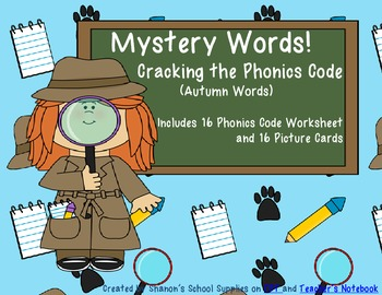 Mystery Words! Cracking the Phonics Code (Autumn Words)