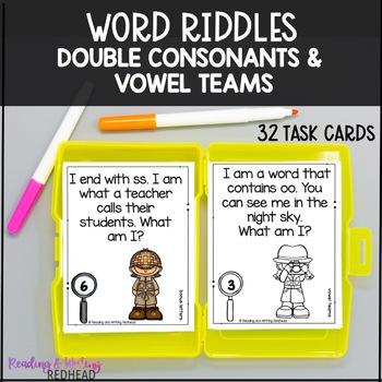 Mystery Words Double Consonants {FREE}