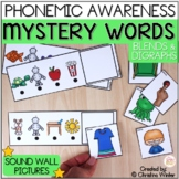 Mystery Words - Phonemic Awareness Games - Blends & Digraphs