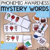 Mystery Words - Phonemic Awareness Games - CVC