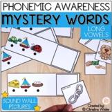 Mystery Words - Phonemic Awareness Games - CVCe & Long Vowel