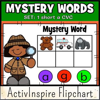 Mystery Words Set 1 CVC Promethean Flipchart