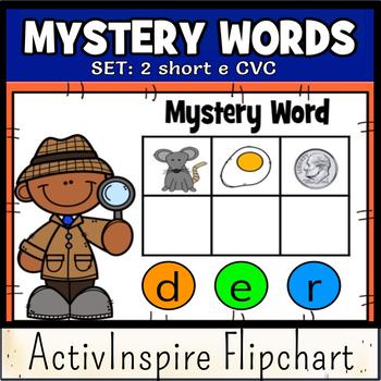 Mystery Words Set 2 CVC Promethean Flipchart
