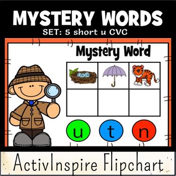 Mystery Words Set 5 CVC Promethean Flipchart