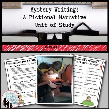 Mystery Writing: A Fictional Narrative Unit of Study