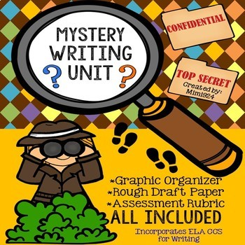 Fictional Narrative Writing: Mystery (Optional Google Drive)