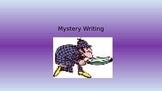Mystery Writing - Harris Burdick