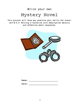Mystery Writing Packet