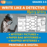 Mystery Writing Unit - 3 Activities for Writing Mysteries