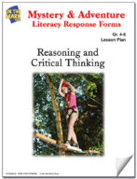 Mystery and Adventure Response Forms: Reasoning and Critical Thinking Worksheets