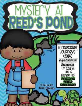 Mystery at Reed's Pond (Journeys 4th Gr. - Supplemental Materials)