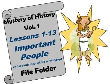 Mystery of History Vol. 1 Lessons 1-13 Important People
