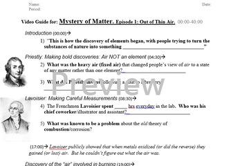 Mystery of Matter Video Guide -Segment 1 (00:00-40:00)