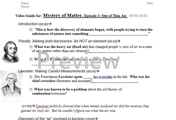 Mystery of Matter Video Guide -Segment 1 (00:00-40:00)