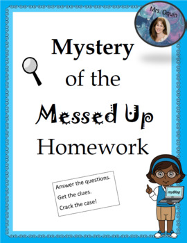 Mystery of the Messed Up Homework - Test Prep Game