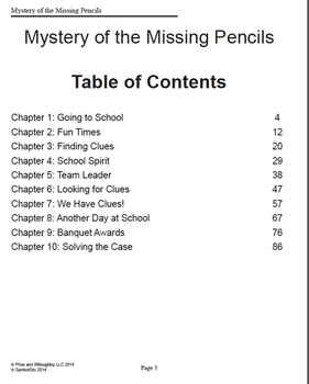 Mystery of the Missing Pencils
