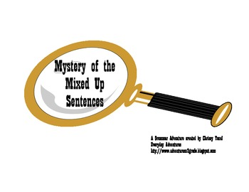 Mystery of the Mixed Up Sentences