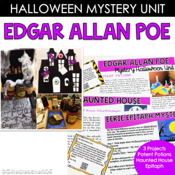 Mystery or Halloween Edgar Allan Poe Unit