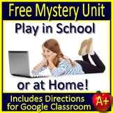 Free Mystery Unit: Reading Mystery Workshop - The Case of the Missing Pencil