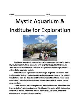 Mystic Aquarium - Review Article Information Facts Questions