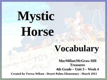 Mystic Horse- Vocabulary