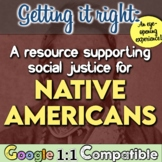 """Native Americans Myth-Busters! Students """"bust"""" 5 American"""