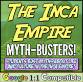 Inca Empire Myth-Busters! Students explore Inca culture, life, & religion!