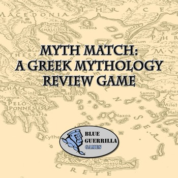 Myth Match: A Greek Mythology Review Game