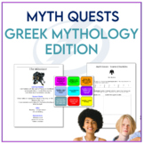 Myth Quests - Introductory Mythology Activities for Middle