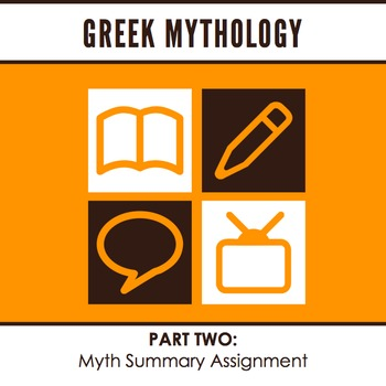 Myth Summary Assignment