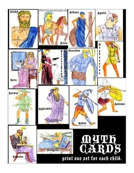 Myth - Teaching the Greek Gods and Goddesses