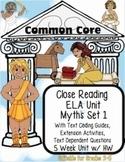 Myth Unit: Text Coding, Close Reading, Reading Response Activities