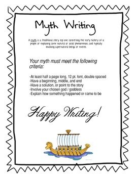 Myth Writing