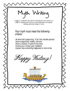 Myth Writing