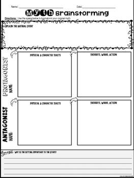 Myth Writing Resource Pack