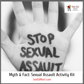 Myth and Fact Activity Game: The Truth About Sexual Assault