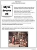 """Ancient Greece Government: Myth-Busters! Students prove or """"debunk"""" 6 myths!"""