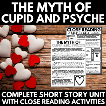 Greek Mythology Unit - Myth of Cupid and Psyche - Questions and Activities
