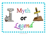Myth or Legend