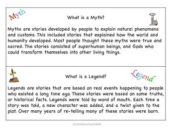 Myth or Legend