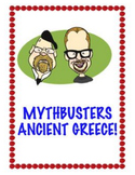 Mythbusters Ancient Greece! Distance Learning Compatible