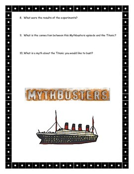 Mythbusters-Down With Titanic Questions