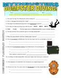 Mythbusters : Dumpster Dive (science video worksheet)